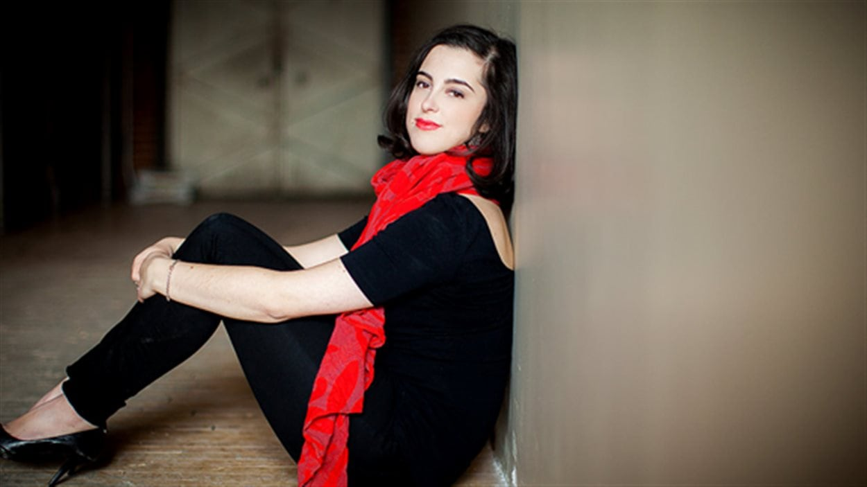 La soprano Catherine St-Arnaud