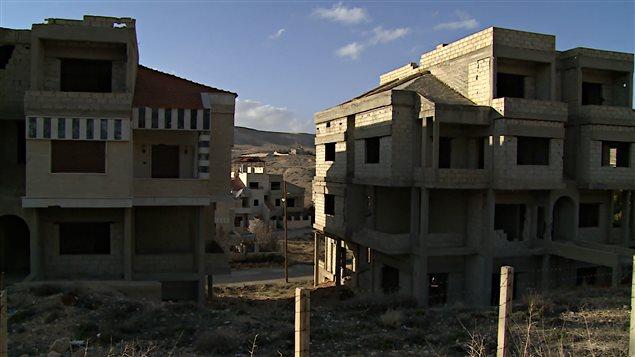 Maaloula, village chrétien presque désert