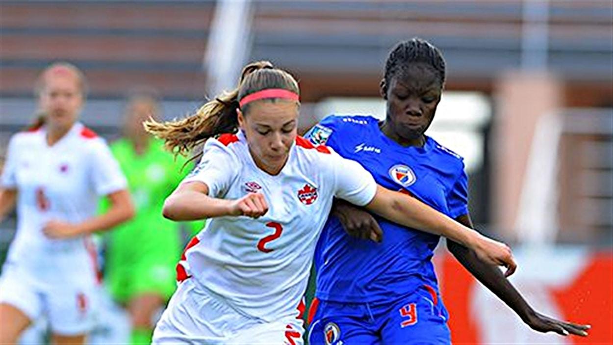 Le Canada s'est incliné 2-1 devant Haïti