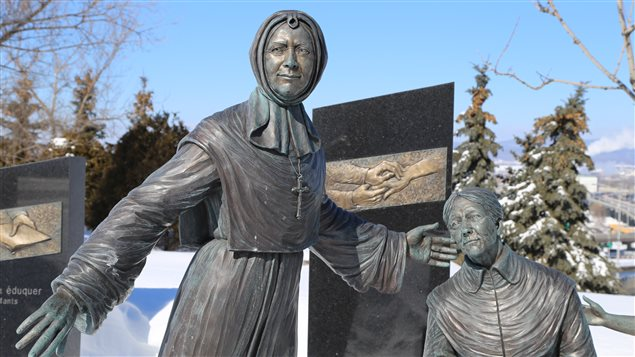 Le monument Mère Mallet à Québec
