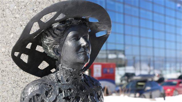 Le monument Alphonse-et-Dorimène-Desjardins à Québec