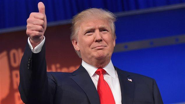 Le candidat républicain Donald Trump