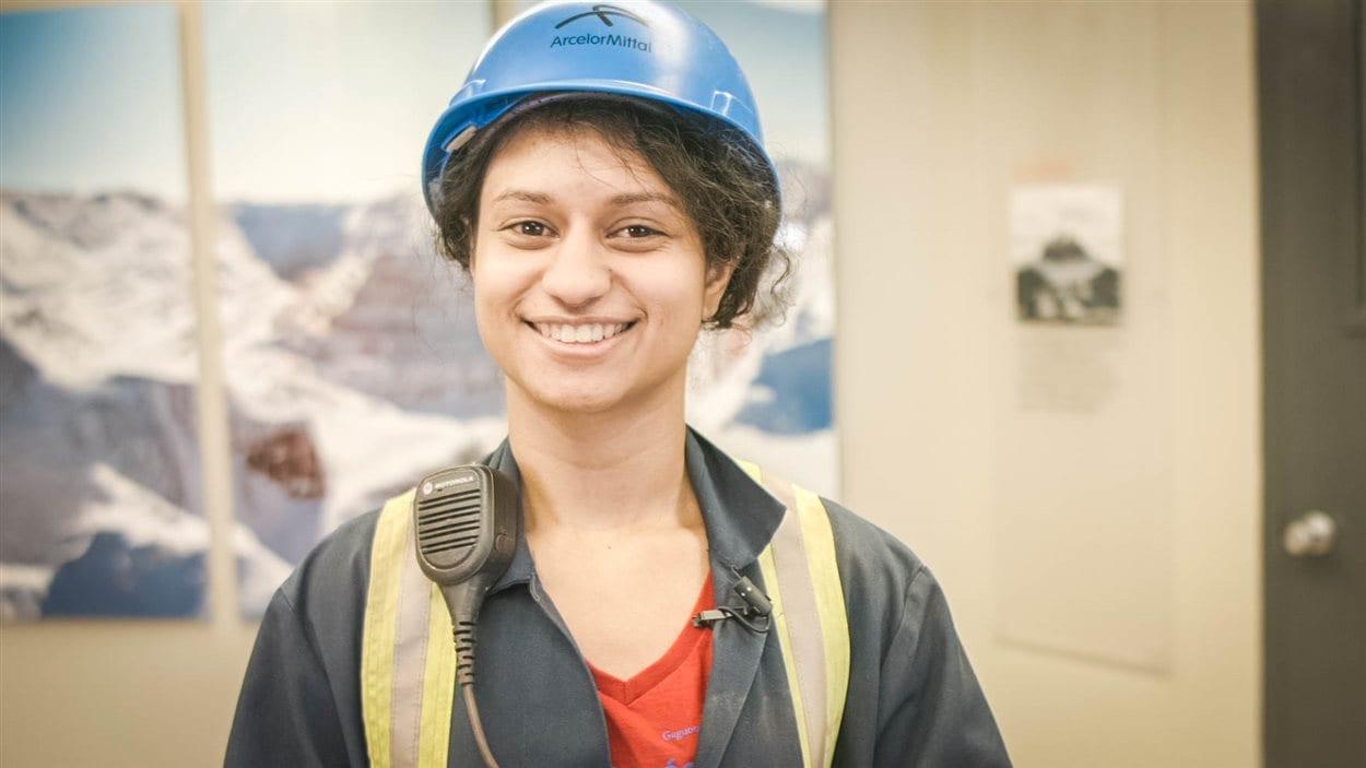 Murielle Todori travaille depuis 2011 pour ArcelorMittal