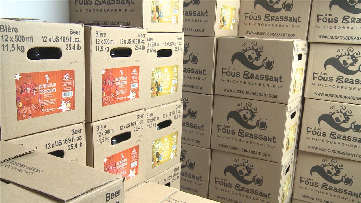 La Microbrasserie Aux Fous Brassant veut augmenter sa production.