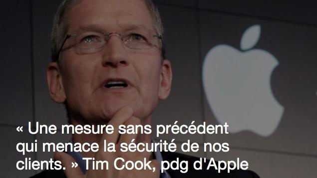 Tim Cook.