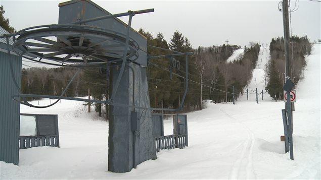 La station de ski de Saint-Pacôme est fermée depuis deux ans.