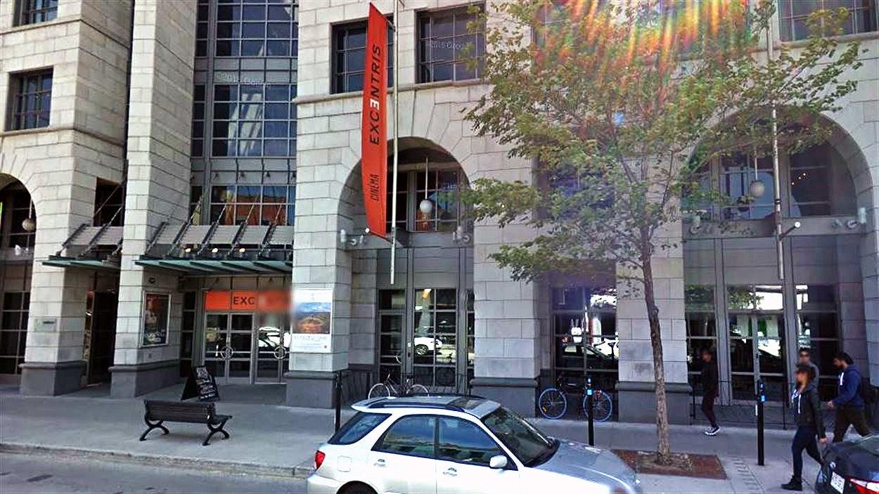 Le cinéma Excentris sur le boulevard Saint-Laurent, à Montréal