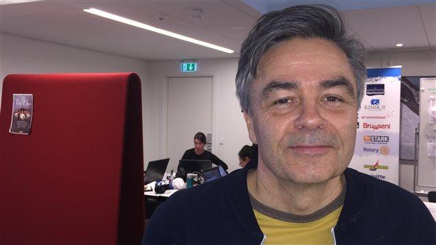Anders Stenbakken, PDG de Visit Greenland, en mars 2016