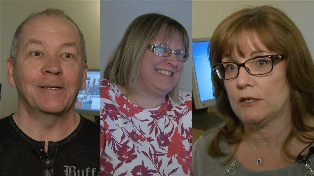 Yves Allard, Claire Sévigny et Johanne Lavallée, les nouveaux visage de la retraite.