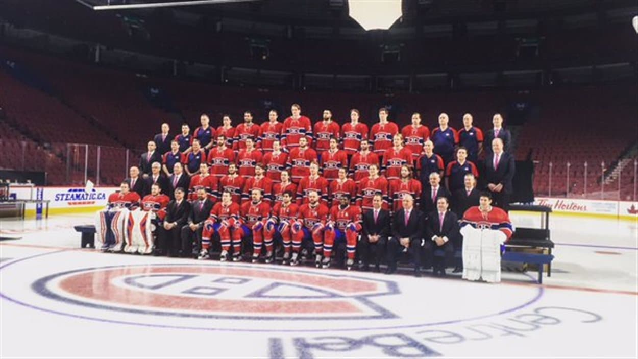 Photo d'équipe du Canadien de Montréal, saison 2015-16
