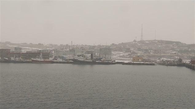 Port de Cap-aux-Meules libre de glace