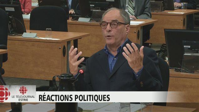 Robert Benoît, ancien député d'Orford et ex-président du PLQ