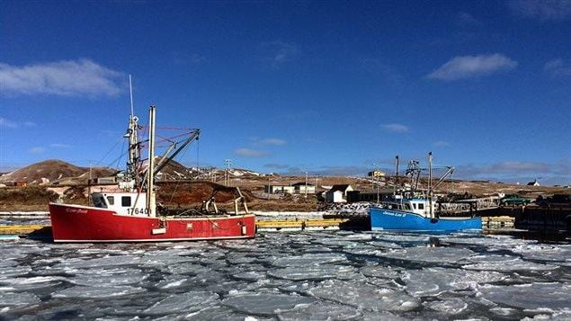 La pêche prend une grande place sur l'Île d'Entrée.