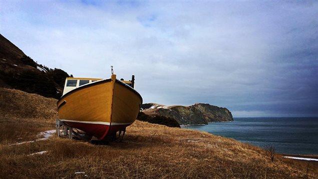 L'hiver, on place les bateaux en cale sèche ou on les met sur un « slip » en bois, des berceaux.