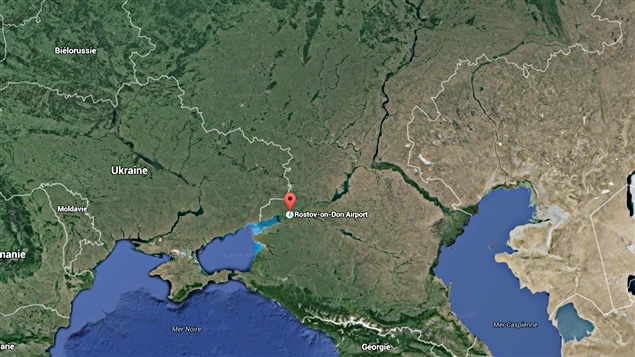 l'aéroport de Rostov-sur-le-Don en