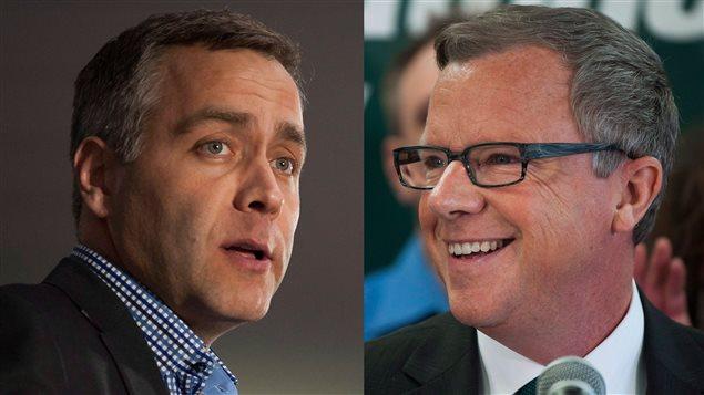 Le débat des chefs opposera mercredi soir Cam Broten et Brad Wall.