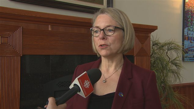 Mireille Jean, candidate du Parti québécois