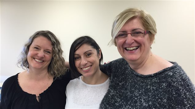 Isabelle Anne Beck, Gabriella Djerrahian et Nayri Tavlian