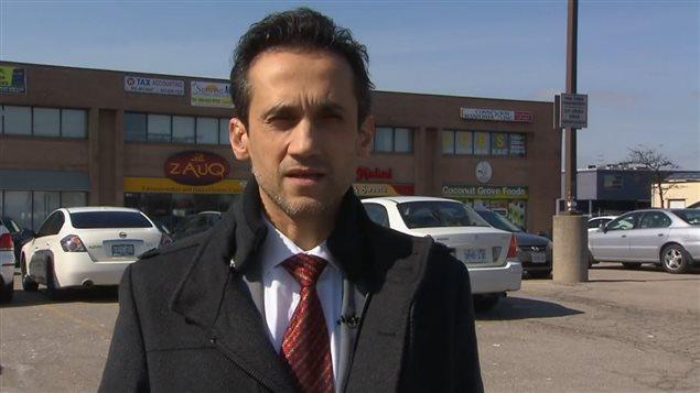 L'avocat Anser Farooq représente Kevin Omar Mohamed.