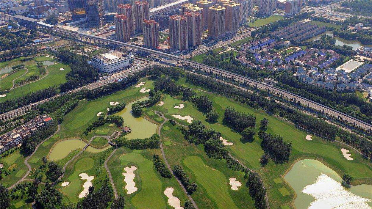 Terrain de Golf à Shanghai