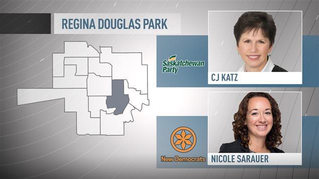 Il y a deux nouveaux candidats qui représentent les deux grands partis.