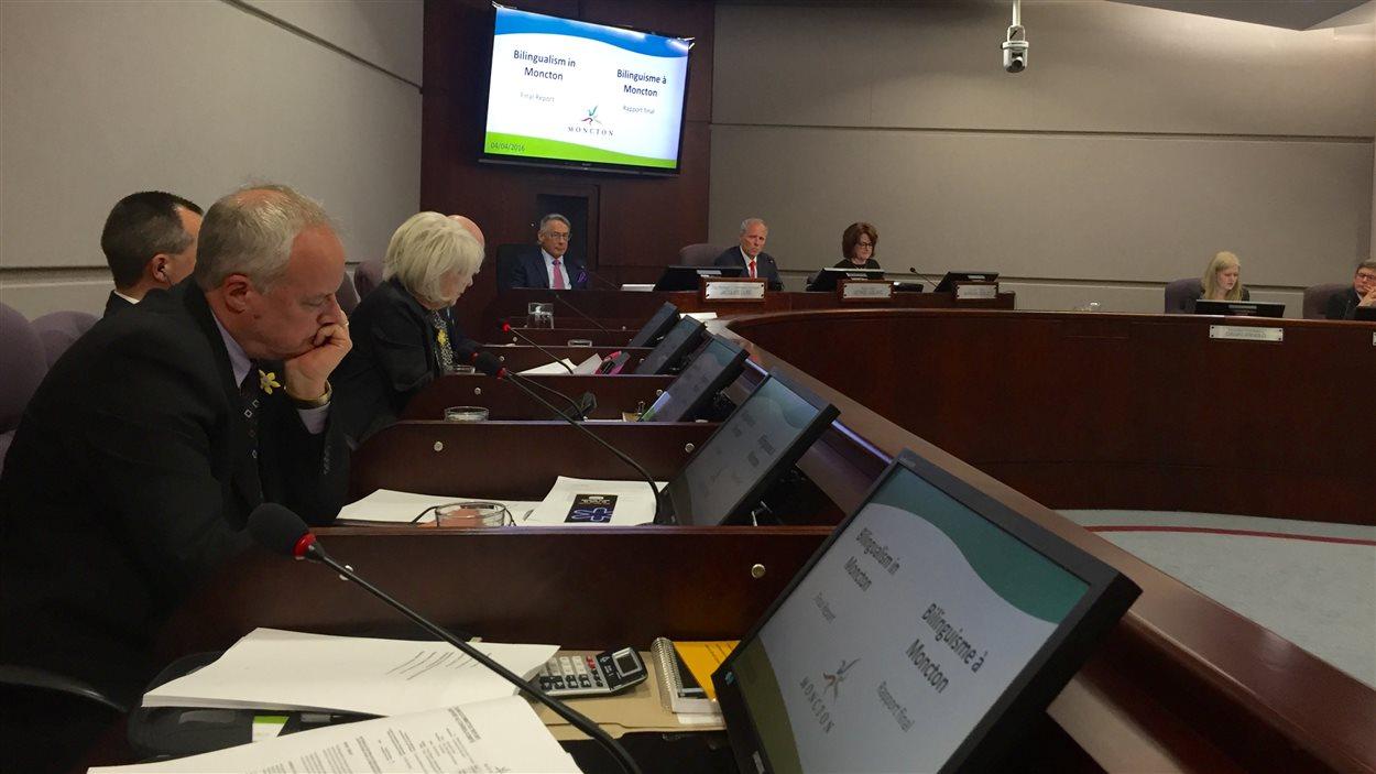 Le conseil municipal de Moncton