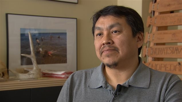 Tunu Napartuk, maire de Kuujjuaq.