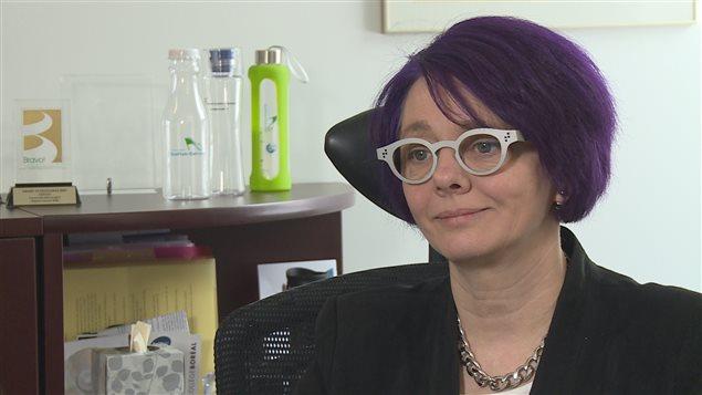 La directrice des communications du conseil scolaire francophone Viamonde, Claire Francoeur