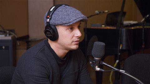 Le rappeur Samian.