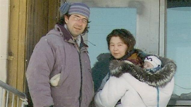 Le père et la mère d'Olivia Lya Thomassie