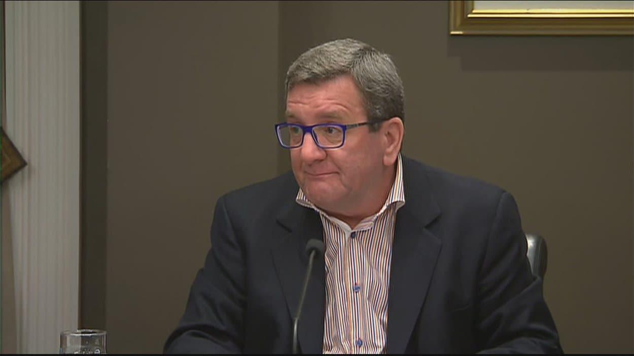 Le maire de Québec, Régis Labeaume.