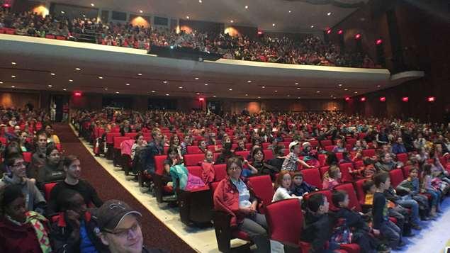 Le public qui a assisté au concert