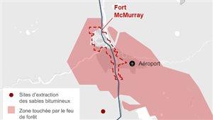 Quelle est l'ampleur des dommages à Fort McMurray? La réponse en cartes