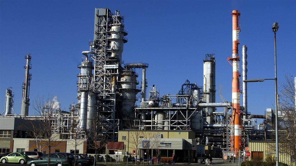 La raffinerie d'Énergie Valero à Lévis
