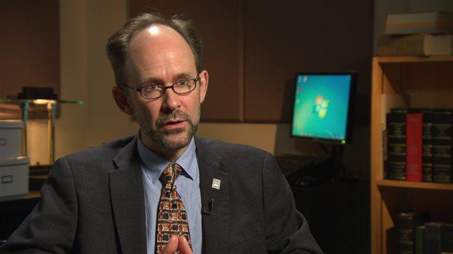 Le professeur de droit à l'Université d'Ottawa, Sébastien Grammond