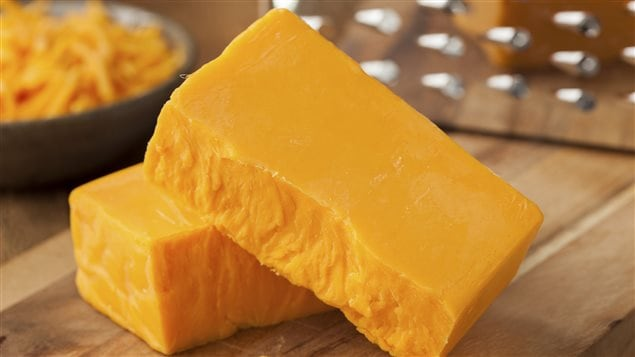 Du fromage cheddar