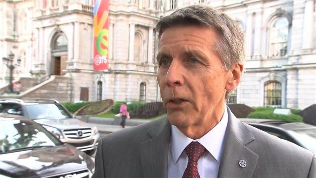 Pierre Desrochers, président du comité exécutif de la Ville de Montréal