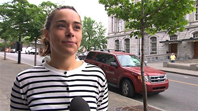 Laurence Lavigne-Lalonde, conseillère municipale de  Maisonneuve-Longue-Pointe et porte-parole de l'opposition en matière d'évaluations foncières et de régimes de retraite