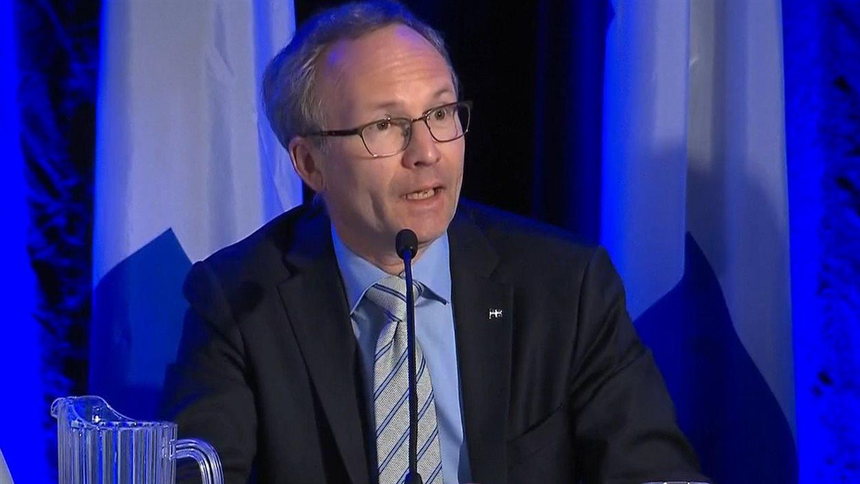 Le ministre de la Sécurité publique et des Affaires municipales, Martin Coiteux