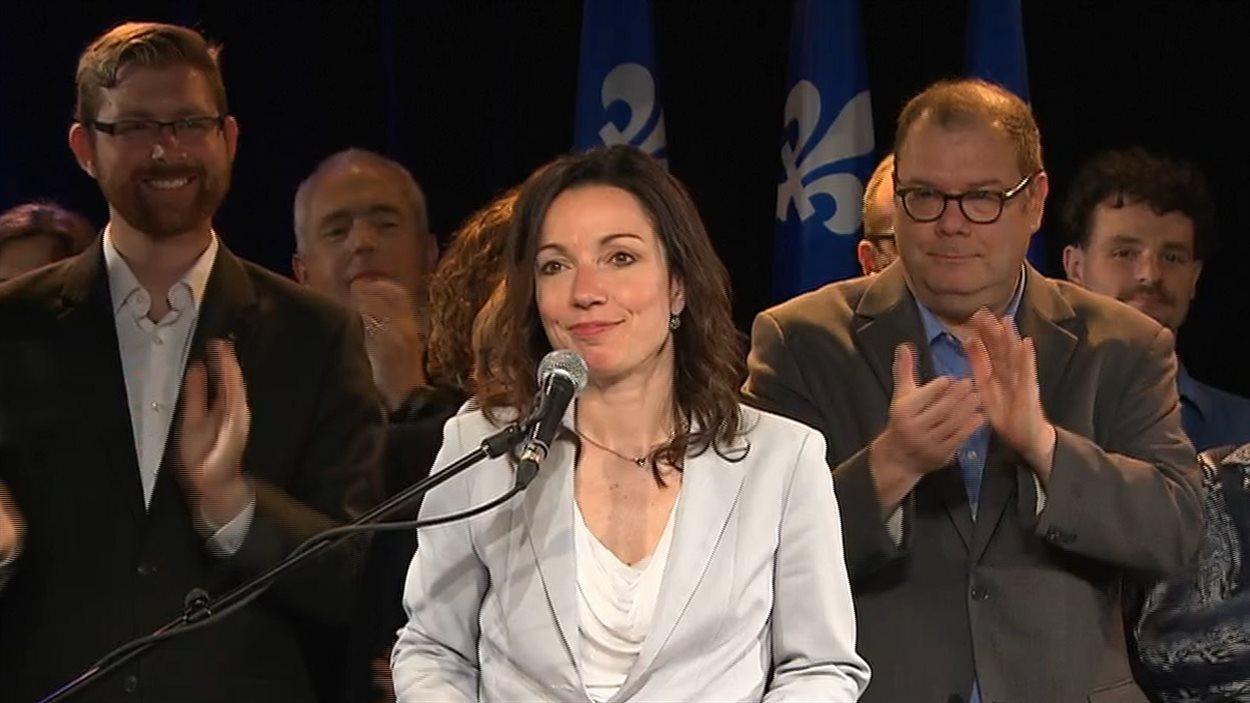 La députée péquiste de Vachon, Martine Ouellet