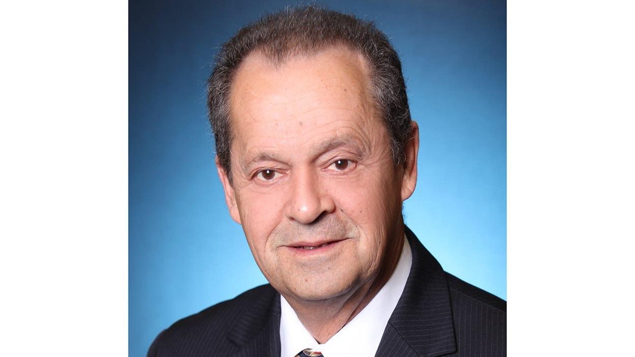 Alain Drouin, maire de Nicolet