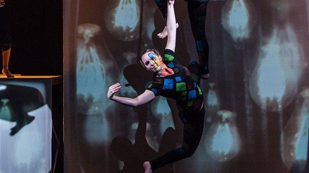 Performance du Cirque des Îles-de-la-Madeleine
