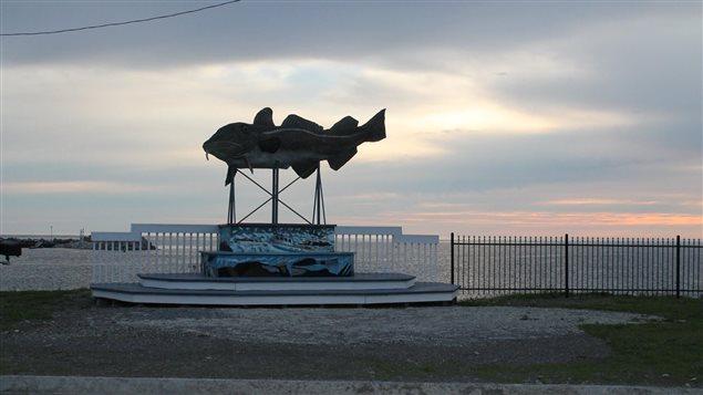 Une des sculptures de Claude Rioux
