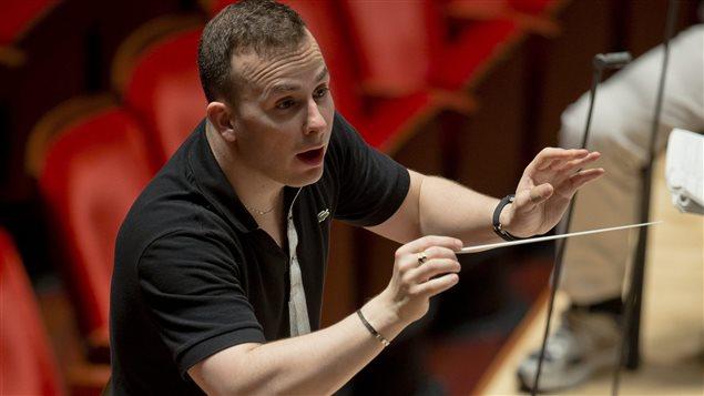Yannick Nézet-Séguin en répétition avec l'Orchestre de Philadelphie en octobre 2012