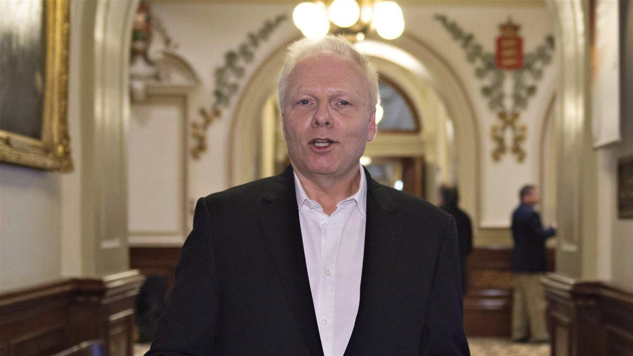 Le candidat à la direction du PQ, Jean-François Lisée