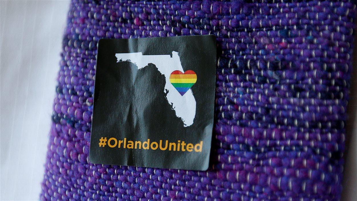 Symbole de solidarité pour les victimes de la tuerie d'Orlando