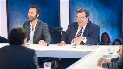Déjà dimanche! Louis-José Houde et Denis Coderre