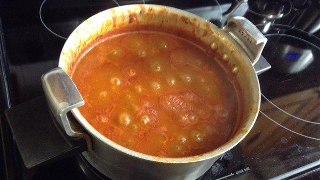 La soupe est cuite