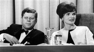 Le président John F. Kennedy et Jacqueline Kennedy
