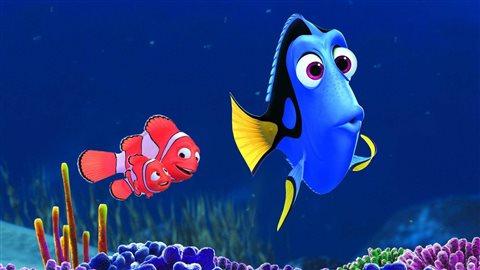 Le poisson-chirurgien Doris est en vedette du nouveau film d'animation de Pixar, «Trouver Doris».